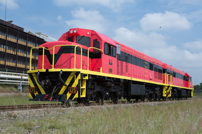 Locomotive Refurbishment Completed for Caminhos de Ferro de Luanda